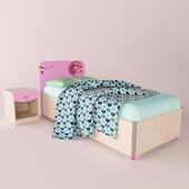 Мебель  CILEK (серия Princess ) кровать, прикроватная тумба
