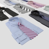 Set of shirts with tie