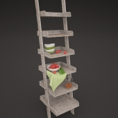 Stairs-shelf