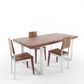 Giulia Novars dining table and chairs