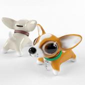 Figurine piggy Chihuahua