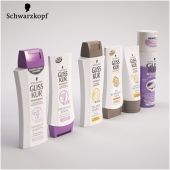 Set Gliss Kur shampoo, conditioner, nail