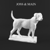 Sculpture of a dog from Joss & Main