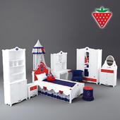 детская мебель Cilek, серия Strawberry