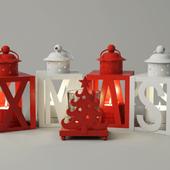 Christmas Lanterns & Tealight / ZARA HOME