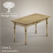 """Table 3. """"Country Style"""" Rosellini"""