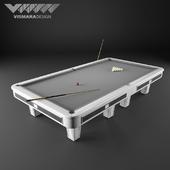 Бильярдный стол Vismara Design RUSSIAN POOL - ART DECO