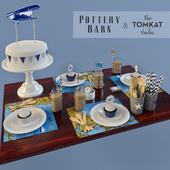 Vintage airplane party. Pottery barn & Tomcat studio