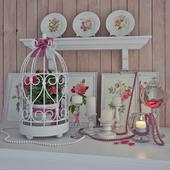 "Provence Decor ""Camellia"""