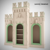 "Children's furniture ""Castle"" Savio Firmino. Cabinets"