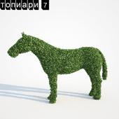 Топиари Конь