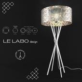 Lampadaire Miss Bubble XXL by Le Labo Design