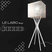 Lampadaire Miss F 1650 by Le Labo Design