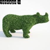 Носорог топиари