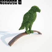 Орел топиари
