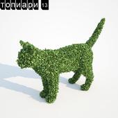 Котик топиари