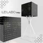 Lampe à poser Miss F 600 by Le Labo Design