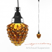 Spiridon Artichaud suspension lamp