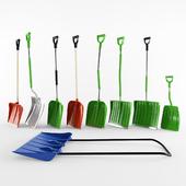 Лопаты для уборки снега