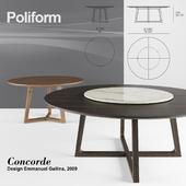 Poliform Concorde set 1
