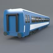 Wagon for rail bus PA2