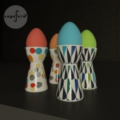 Sagaform Candy Egg Cup and Drop Egg Cup