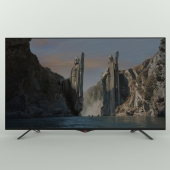 Two TVs LG and Samsung