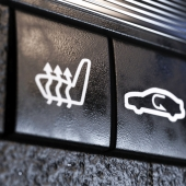 Icons for car interiors