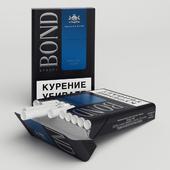 Pack of cigarettes Bond Spesial Blue