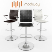 Fuse Adjustable Bar Stool by Modway Furniture