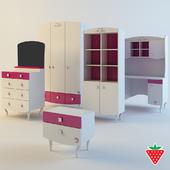 Cilek Yakut - wardrobe, desk, dresser...