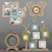 Photo frames and watch birds h. 2