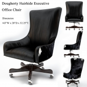 Brindle, Dougherty Hairhide Executive Office Chair, Working chair