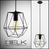 Elk Lighting / Delaney 1 Light Foyer Pendant