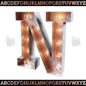Alphabet (EN) RETROBLOCK