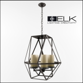 Elk Lighting / Delaney 5 Light Foyer Pendant