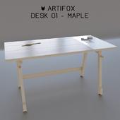 The Artifox Desk 01