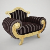 Armchair SISSI Coleccion Alexandra Heritage A2360 / 25