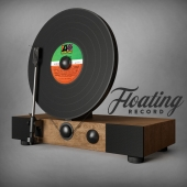 Floating Record Vertical Turntable / Player