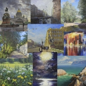 Classical landscape works Paintmart