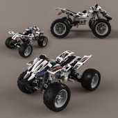 Lego Technic Quad-Bike