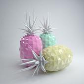 Декоративные фарфоровые ананасы