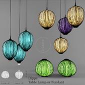Aqua-Creations DippaTable Lamp or Pendant
