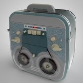 Reel tape recorder
