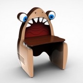 Письменный стол Акула Cilek Black Pirate