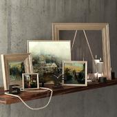 Декоративный набор с картинами Синь-Яо Цзэн / decorative set with Hsin-Yao Tseng pictures