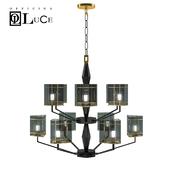Officina luce Top glass chandelier lampadario