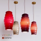 Hanging lamp Venini Zoe