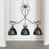 wrought iron chandelier hanging Grace
