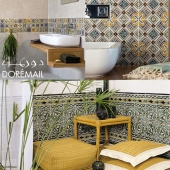 Ceramic tiles Doremail TUNISIAN TILES
